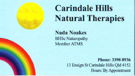 Carindale Hills Natural Therapies