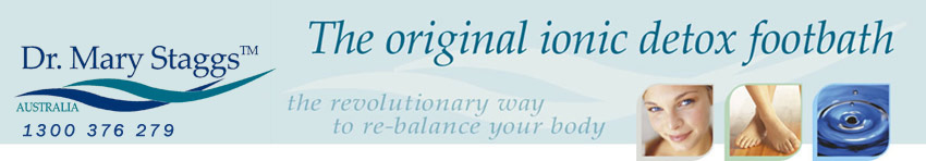 Dr Mary Staggs™ Original Ionic Detox Foot Spa  Wagga Wagga